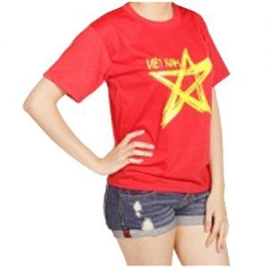 Ao co Viet Nam Cotton