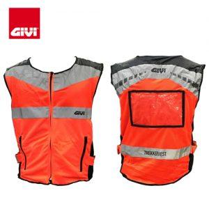 Ao phan quang Givi VEST01 Orange ArmyBoxVn